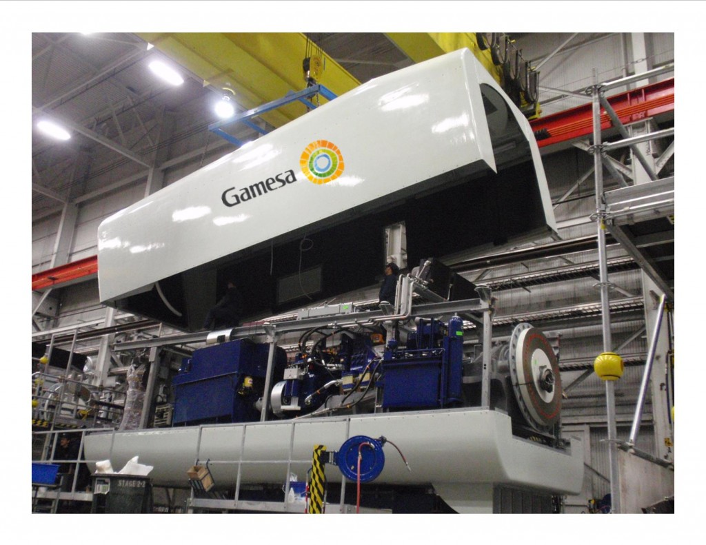 Gamesa-drive-train-gondola