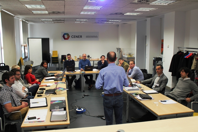 Los socios europeos del proyecto Batterie se reúnen en Cener