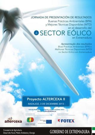 Eólica y energías renovables: Jornada sobre biodiversidad y desarrollo eólico en Extremadura
