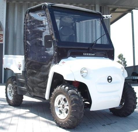 El vehículo eléctrico de Little-Movelco, en La Habana