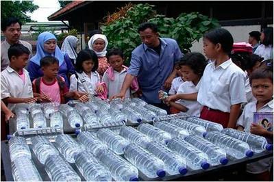 Energías renovables: Método SODIS con energía solar para potabilizar agua