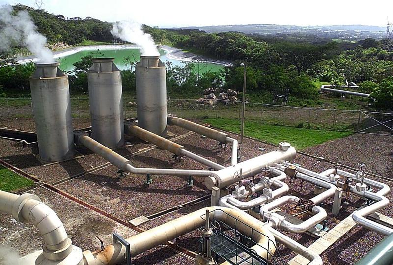Energías renovables: Central geotérmica en Rincón de la Vieja en Costa Rica