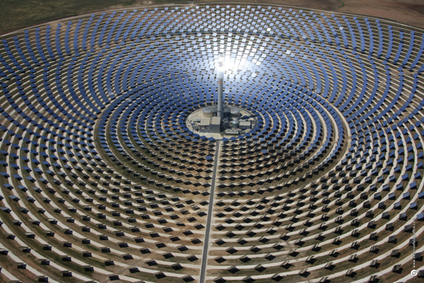 Concentrated Solar Power CSP Today Sevilla 2014 visita la Termosolar Gemasolar