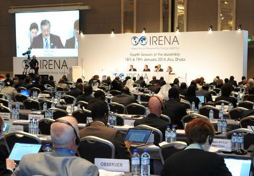 Agencia Internacional de Energías Renovables celebra asamblea en en Abu Dabi