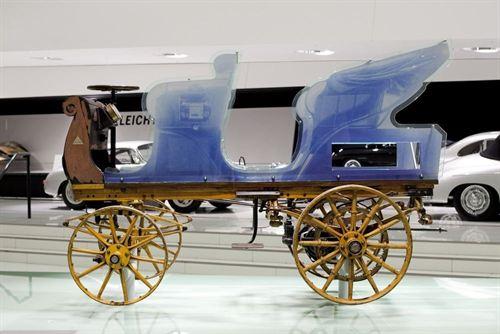 Vehículo eléctrico: Porsche muestra su primer coche eléctrico de hace 116 años