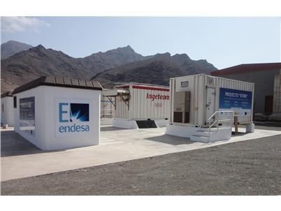 Energías renovables y eólica: Almacenamiento de electricidad por Endesa en Canarias