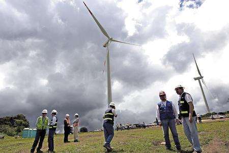 Honduras eolica wind power