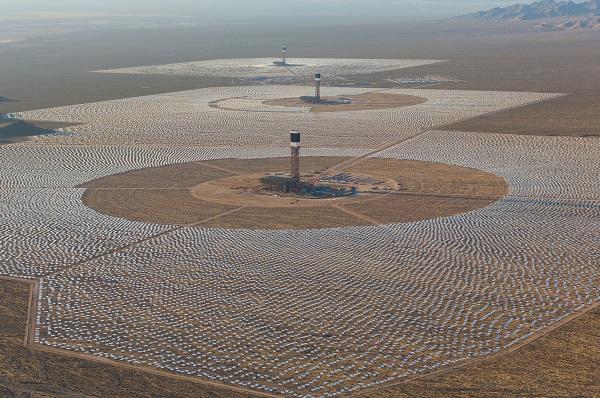 Energías renovables: NRG Energy, BrightSource Energy y Google inauguran la mayor termosolar del mundo