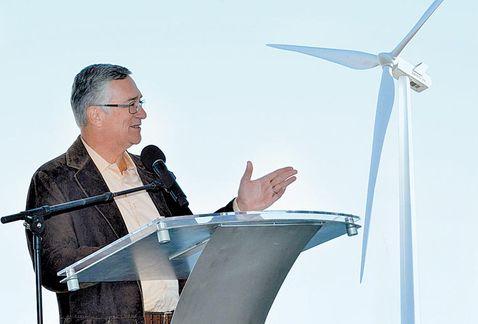 Eólica y energías renovables: Inauguró la Sener primer parque eólico de Jalisco con 28 aerogeneradores