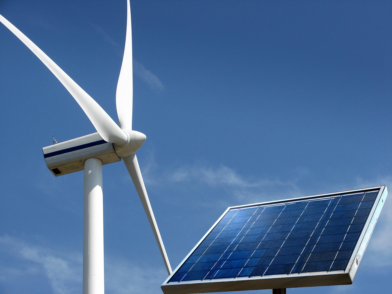 Las energías renovables, eólica, fotovoltaica y termosolar, generaron el 55,5% de la electricidad