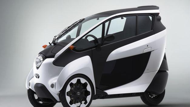 Vehículo eléctrico: Toyota lanza el coche eléctrico i-Road