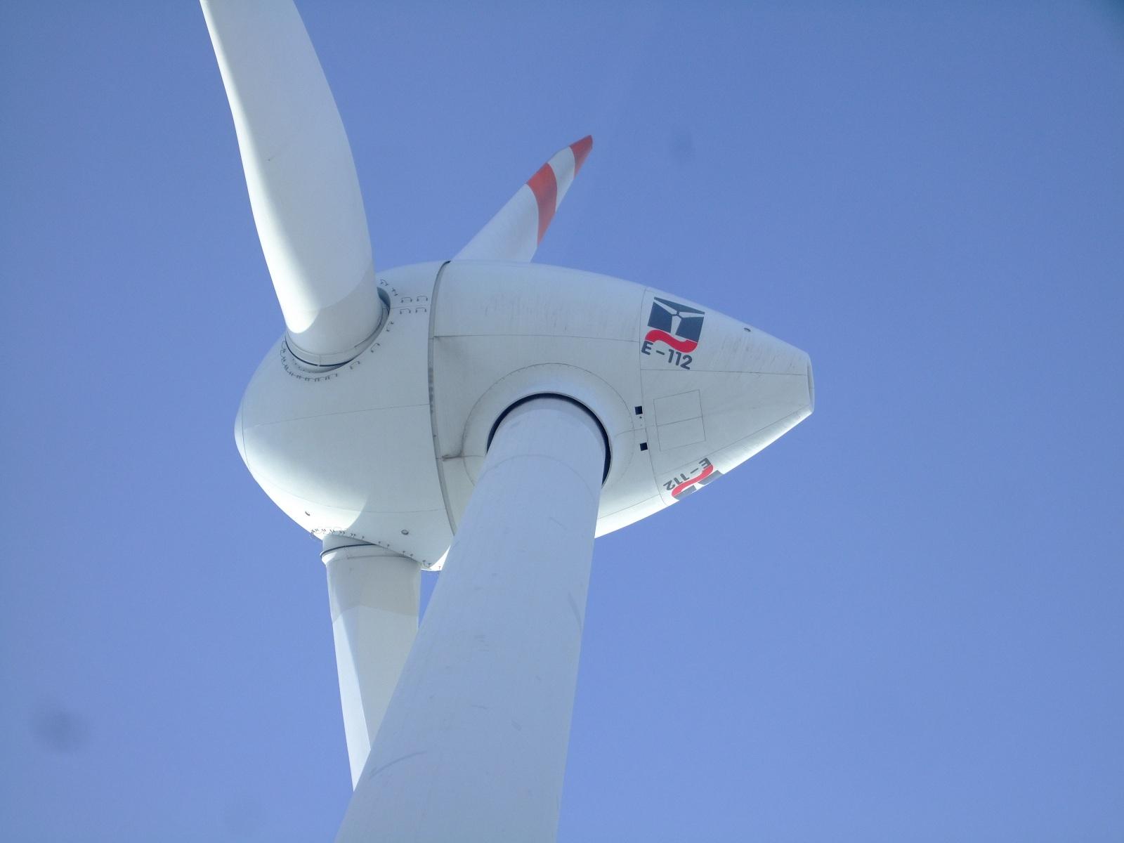 Eólica en Canarias: parque eólico de Inalsa con aerogeneradores de Enercon