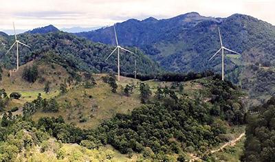 Guatemala construiría su primer parque eólico