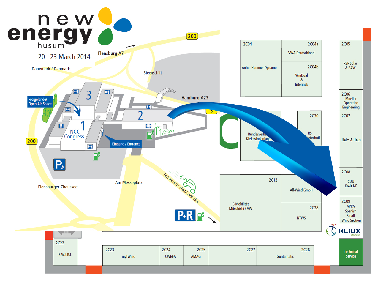 Kliux Energies estará en la feria más importante de eólica y energías renovables de Europa
