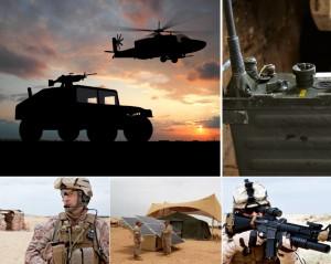 Batería ADRES de Saft con integración de energías renovables (eólica o energía solar) para el ejército de EE UU