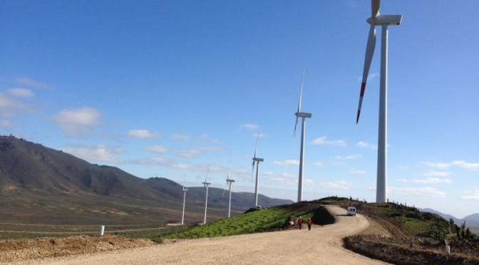 Bio-Bio al frente de la eólica en Chile