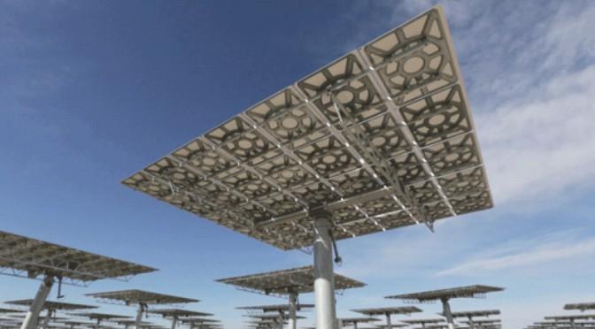 Energías renovables: La mayor  termosolar de torre, Crescent Dunes, funcionará este año