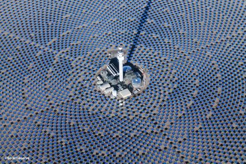 Empresa española realiza los montajes de la gran central termosolar de Crescent Dunes
