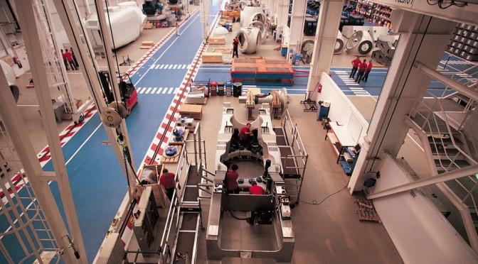 Acciona asegura la actividad de aerogeneradores en 2014 y 2015