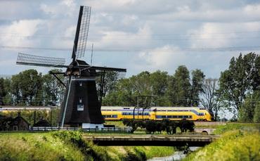 Eólica suministrará electricidad a los ferrocarriles de Holanda
