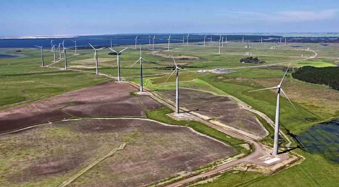 Eólica y energías renovables: Acciona suministrará 51 aerogeneradores al Complejo Eólico Santa Vitória do Palmar.