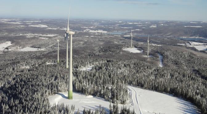 Enel entra en la eólica de Canadá