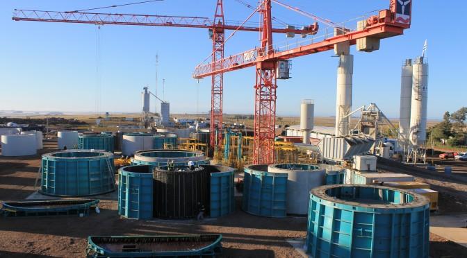Energías renovables y eólica: Enercon producirá torres de hormigón para sus aerogeneradores en Uruguay