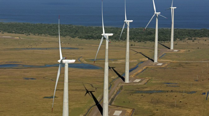 Energías renovables en Brasil: Acciona se afianza en la eólica con sus aerogeneradores de 3 megavatios