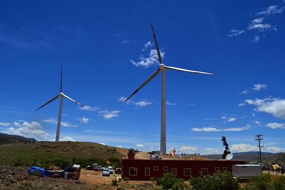 Bolivia Parque Eólico de Qollpana