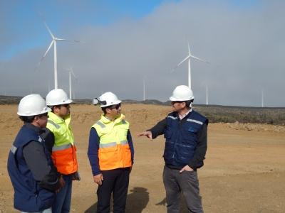 Parque eólico de Pattern, inaugurado por la presidenta Bachelet