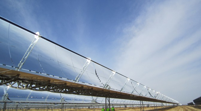 Termosolar de Dow y SENER (Concentrated Solar Power, CSP) en Expoquimia