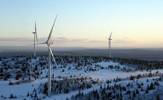 Eólica en Suecia: Parque eólico sueco Nylandsbergen completado