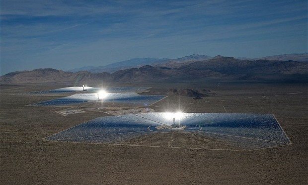 Termosolar (Concentrated Solar Power) llegará a un millón de megavatios en 2050
