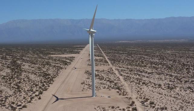 Argentina tiene potencial eólico para «superar en decenas de veces la demanda de electricidad»