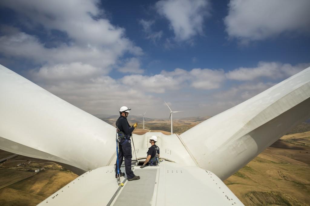 Eólica y energías renovables en México: Proyecto eólico de Santander y Gamesa con 121 aerogeneradores.