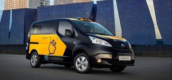 Vehículo eléctrico: Primeros taxis eléctricos de Madrid y Barcelona