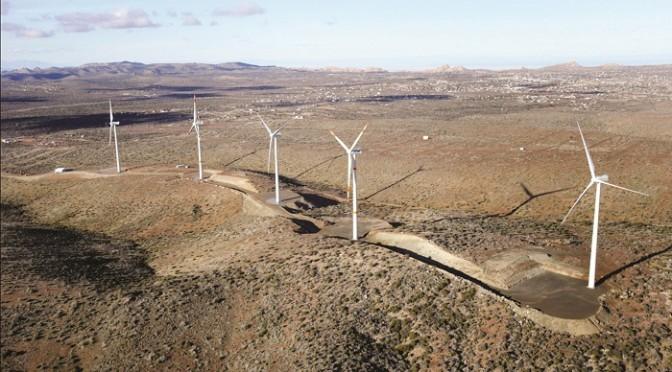Energía eólica en México, parque eólico de Elecnor