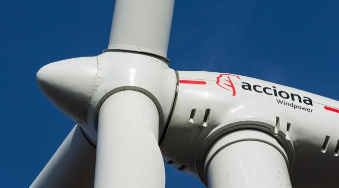 Eólica en Estados Unidos: Aerogeneradores de Acciona en un parque eólico en Texas para Ikea