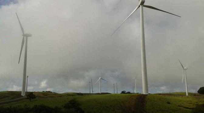 Costa Rica logra porcentaje récord de energías renovables