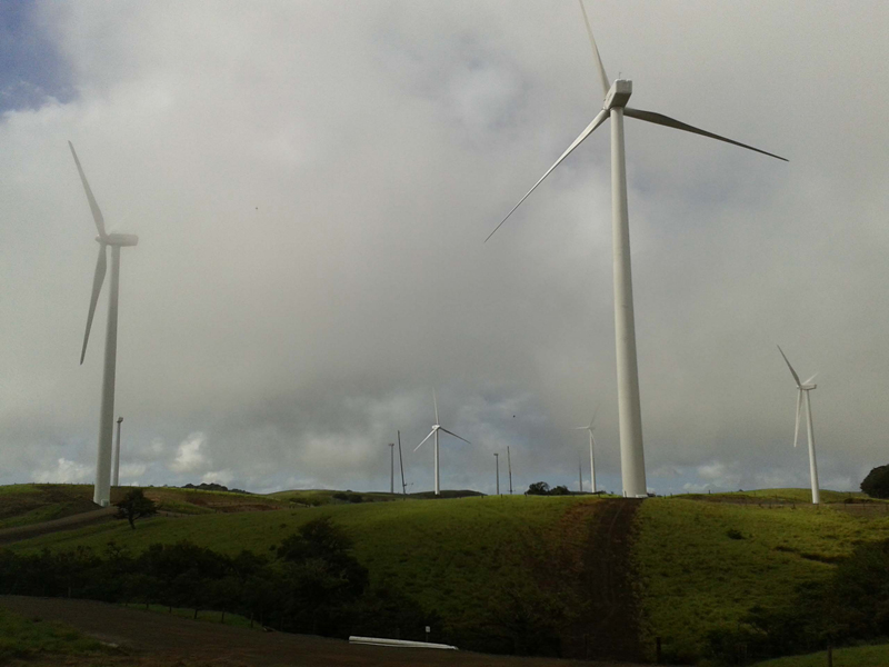 Eólica en Centroamérica: parques de energías renovables en Nicaragua, Costa Rica, Honduras, Panamá y Guatemala.