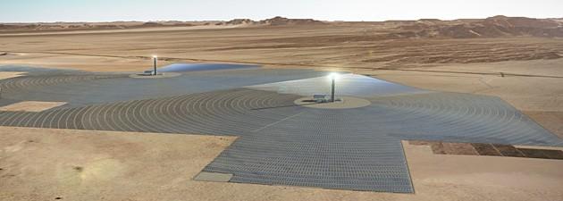 Abengoa desarrollará el proyecto termosolar Palen