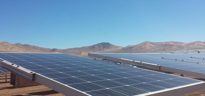Energías renovables en Chile: aprueban proyecto de desarrollo de la energía solar