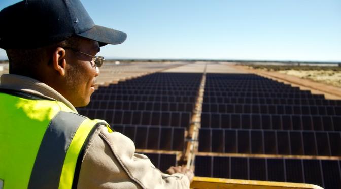 Acciona Energía ha puesto en marcha la central de energía solar fotovoltaica de Sishen