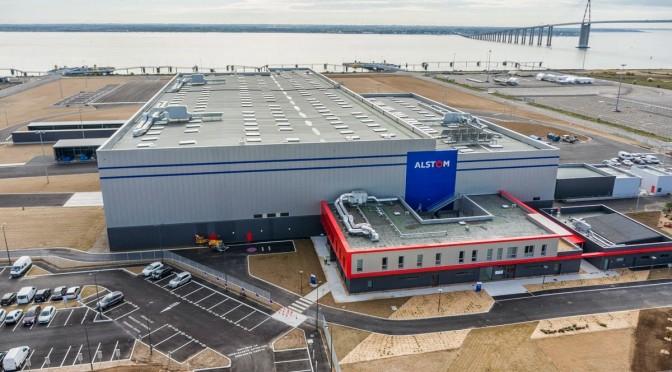 Eólica marina en Francia: Alstom fabrica aerogeneradores eólicos en Saint Nazaire