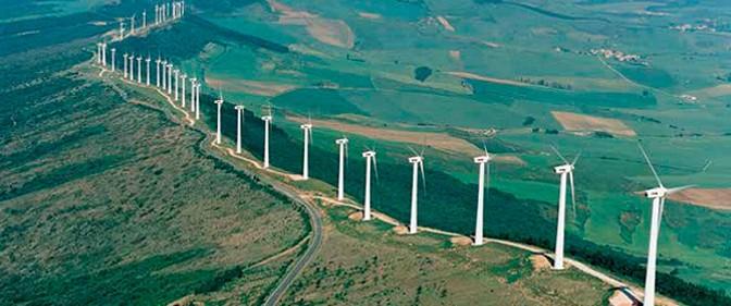 Energías renovables, eólica, fotovoltaica y termosolar, produjeron el 42,8% de la electricidad en España
