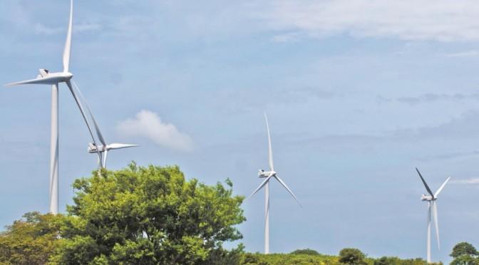 Energías renovables en Nicaragua: Restablecen producción eólica