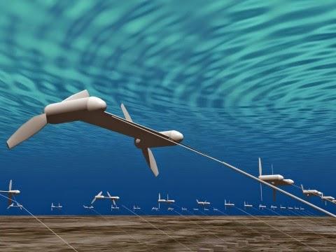 Aerogeneradores submarinos para energías renovables marinas en Japón