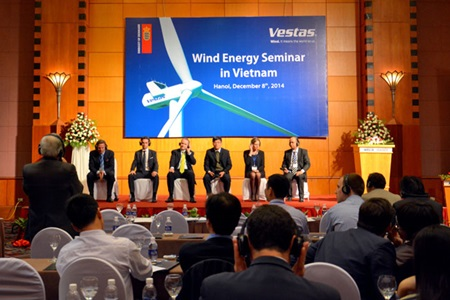 Wind power leader Vestas sees potential in Vietnam