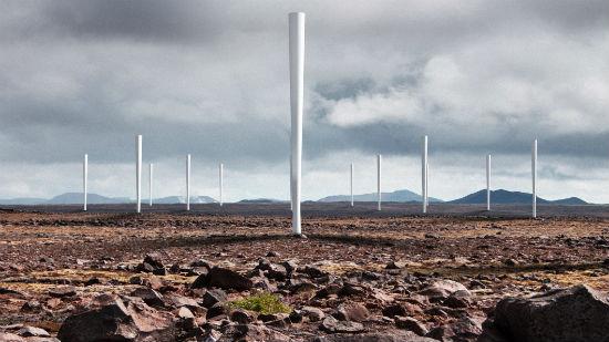Aerogeneradores sin palas: menos eficientes en la conversión de la energía eólica capturada en energía eléctrica