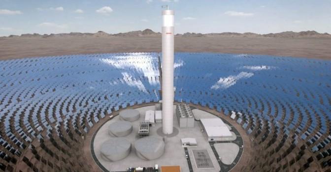 Lanzan Plataforma Solar del Desierto de Atacama